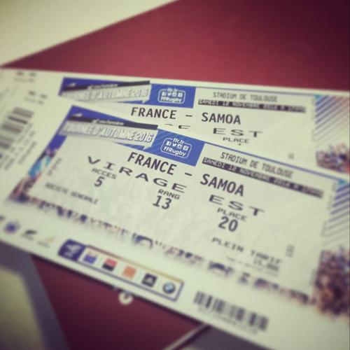 XV de France - Tournée de novembre 2016