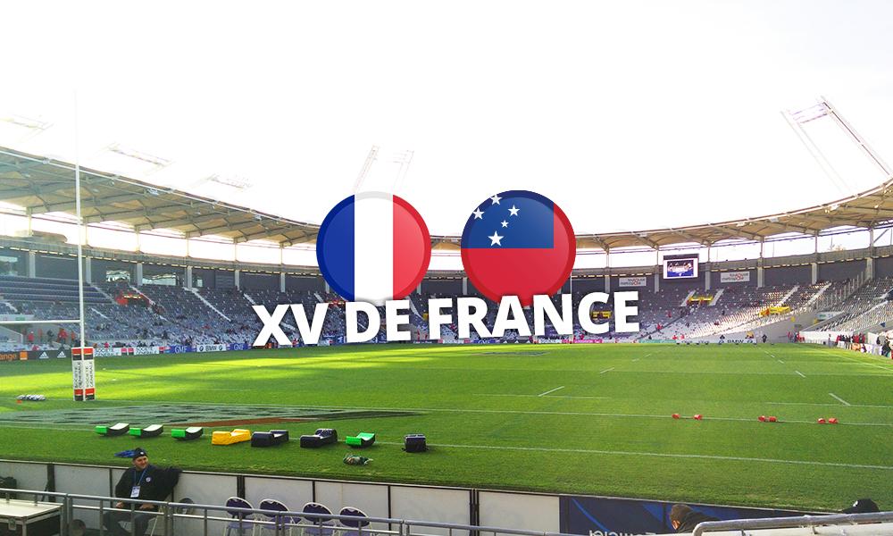 France vs Samoas | Séjour rugby
