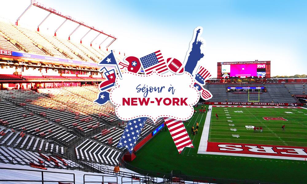 Séjour Football américain New York
