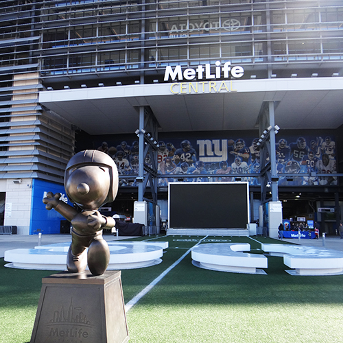 Visite du MetLife Stadium - Séjour Foot US à New York