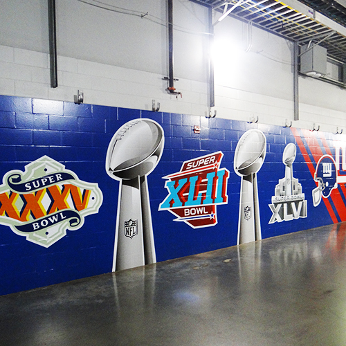 Visite du MetLife Stadium - Séjour Foot US à New York
