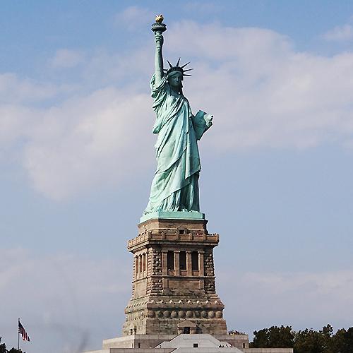 Statue de la Liberté - Séjour à New-York
