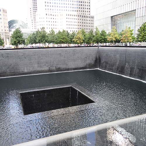 Mémorial du 11 septembre - Séjour Foot Us à New York