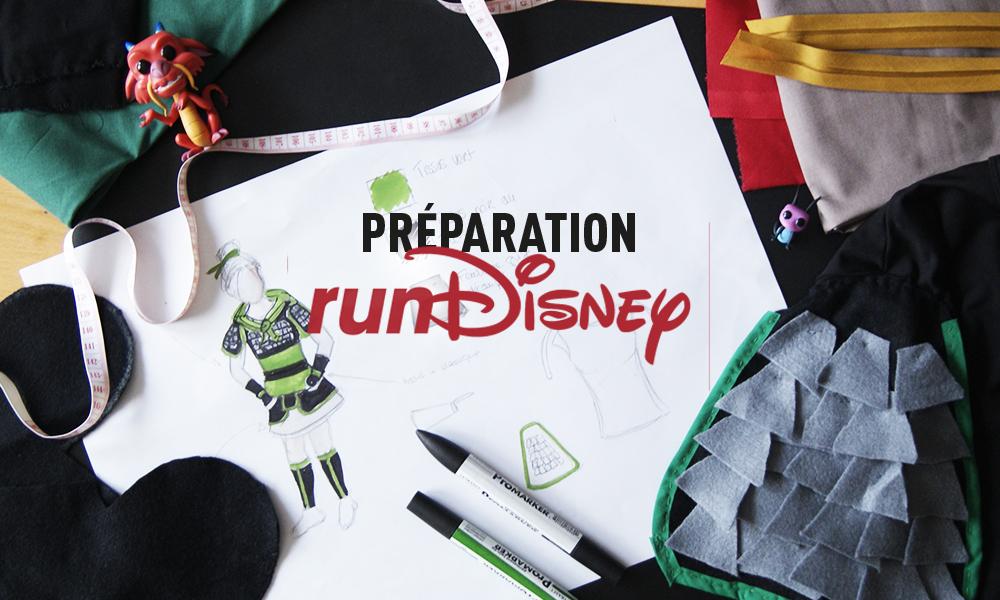 Se préparer pour courir Run Disney