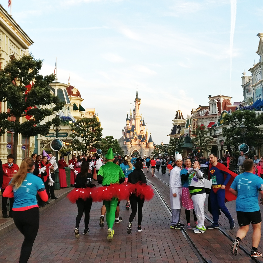 Run Disney 2017 - 10 km de Disneyland Paris