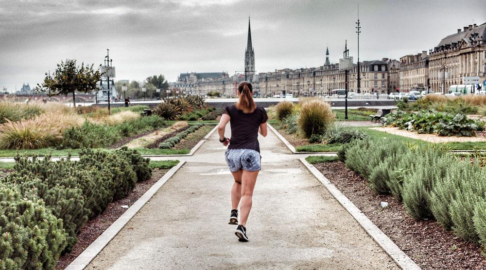 Parcours running à Bordeaux