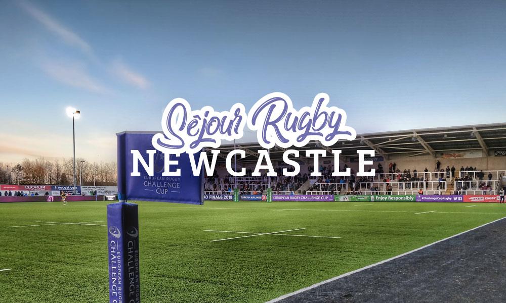 Séjour Rugby à Newcastle