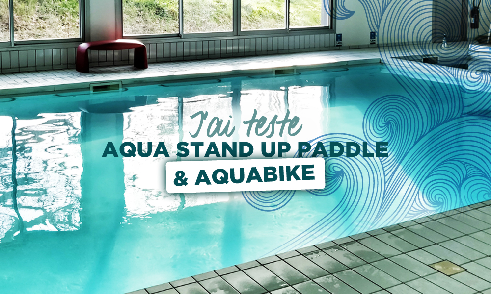 l'aqua stand up paddle & l'aquabike Bordeaux