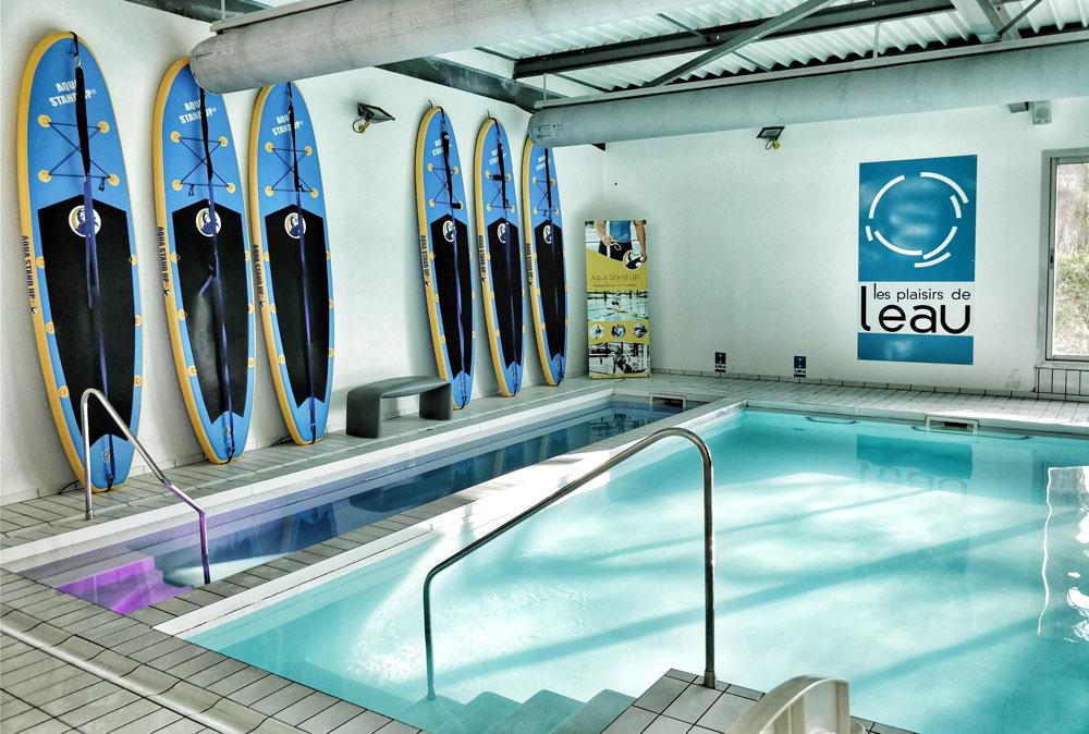 Aqua stand up paddle & aquabike Bordeaux