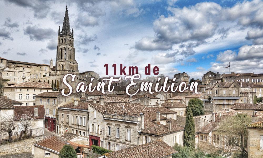 11km de Saint Emilion