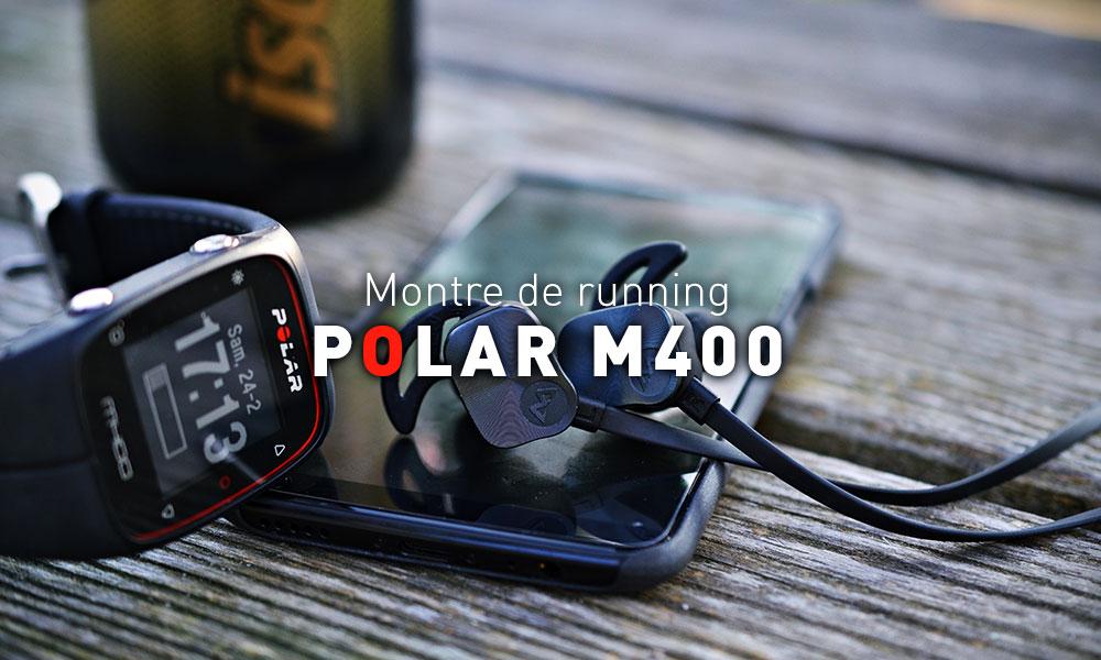 Polar M400 : plus qu'une montre de running