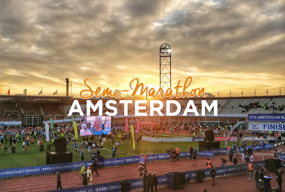 Compte rendu Semi marathon d'Amsterdam 2018 - Mizuno