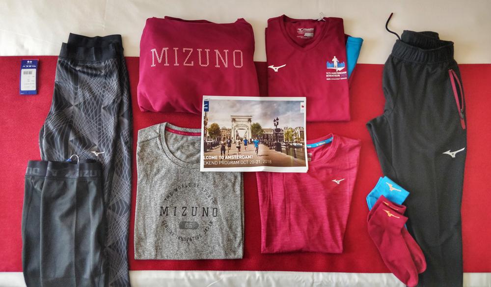 Compte rendu semi-marathon d'Amsterdam 2018 - Mizuno