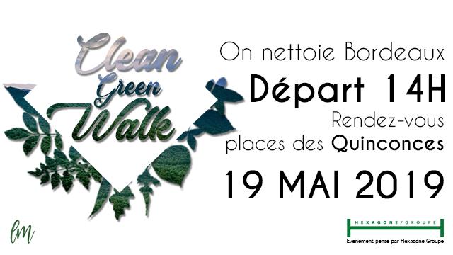 Green Clean Walk Bordeaux
