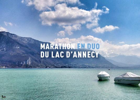 Marathon en duo Annecy