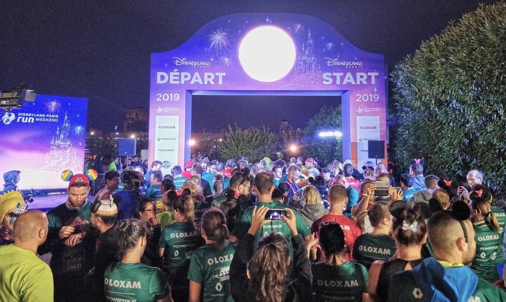 Départ 10 km de Disney 2019