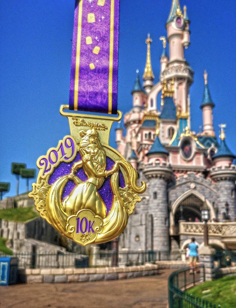 Médaille 10 km de Disney 2019