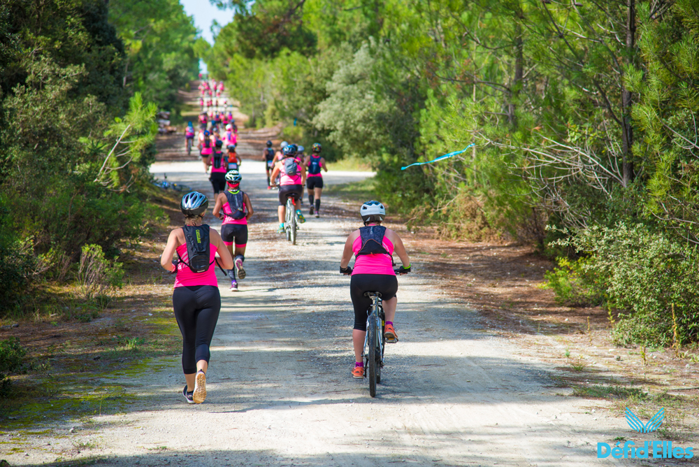 Bike & Run Raid Défi d'Elles