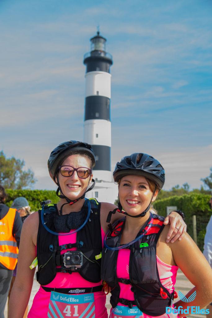 Arrivée Bike & Run Raid Défi d'Elles