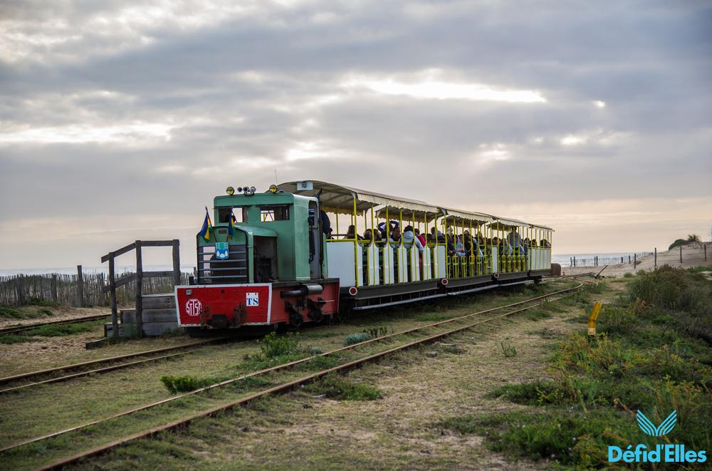Visite en train île d'Oleron